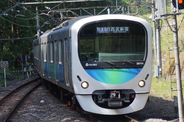 2015-05-02 西武38114F 快速急行西武新宿行き