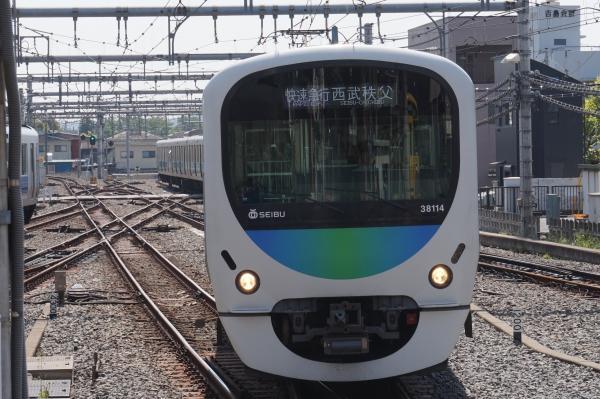 2015-05-02 西武38114F 快速急行西武秩父行き