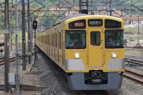 2015-05-03 西武2501F+2503F 急行西武秩父行き 5017レ