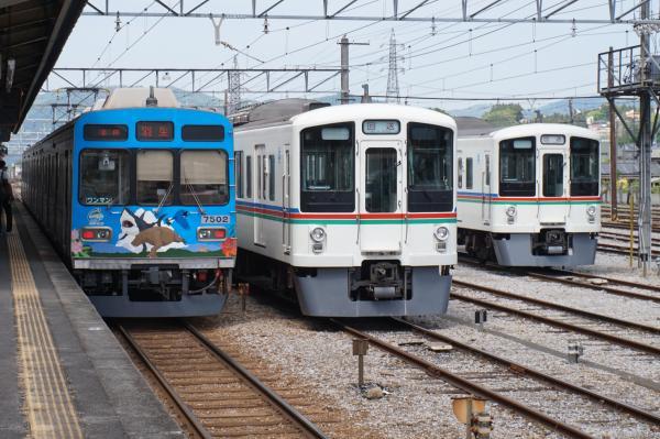 2015-05-03 秩父鉄道7502F 西武4015F 4003F