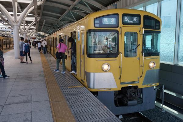 2015-05-10 西武2087F 準急飯能行き1 4121レ