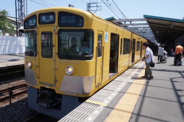 2015-05-10 西武2087F 準急飯能行き2 4121レ