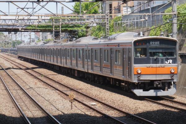2015-05-10 武蔵野線205系ケヨM13編成 府中本町行き