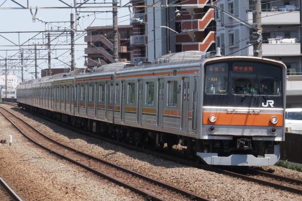 2015-05-10 武蔵野線205系ケヨM34編成 府中本町行き