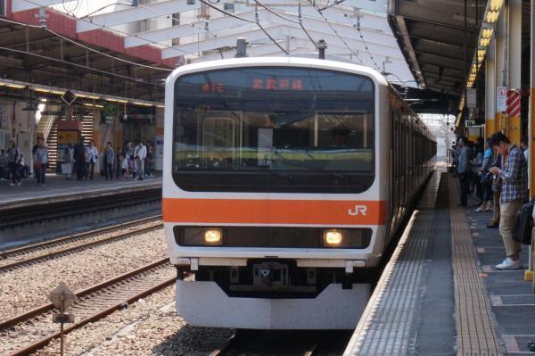 2015-05-10 武蔵野線209系ケヨM73編成 南船橋行き1