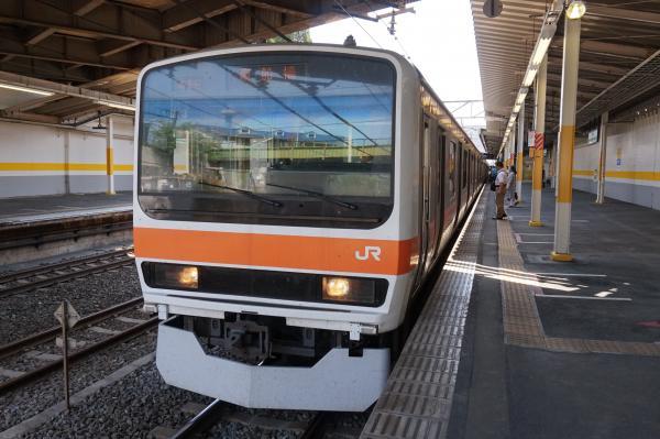 2015-05-10 武蔵野線209系ケヨM73編成 南船橋行き2
