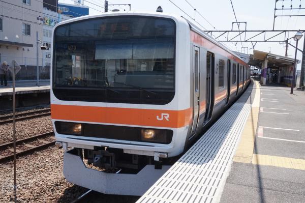 2015-05-10 武蔵野線209系ケヨM73編成 南船橋行き3