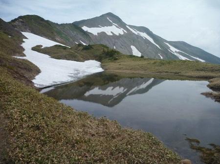 別山平の池