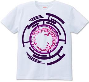 ウロボロス トライバル デザインパターン01-Purple-