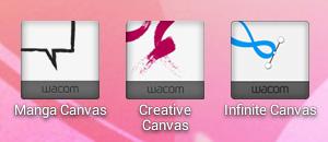 Wacomのバンドルアプリ