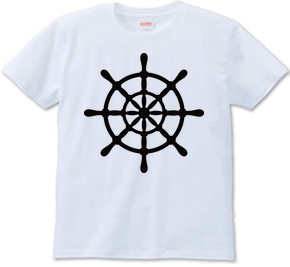 舵輪(ステアリングホイール) シルエット