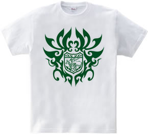 ドラゴン トライバル エンブレム -Green-