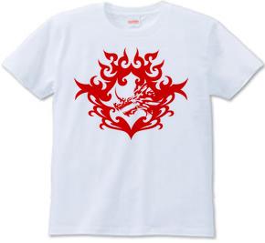 バハムート(頭部)トライバルデザイン-Red-