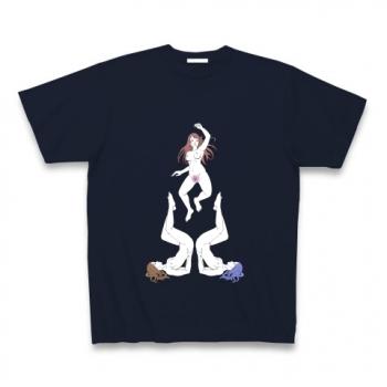 超えてゆく(背景無し) Tシャツ