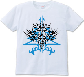 トライバルパターン type2 [Infinity-Desire] 向上 -Blue-