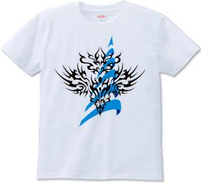 トライバルパターン type2 [Infinity-Desire] 螺旋 -Blue-