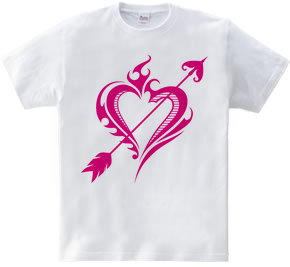 Heart トライバル type1-Steal Your Heart- Magenta