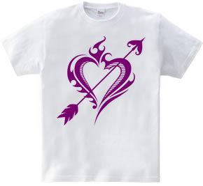 Heart トライバル type1-Steal Your Heart- Purple