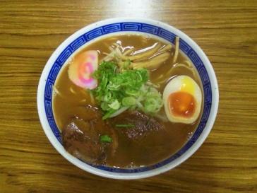いのしし味噌ラーメン550円