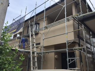 E邸 塗装後