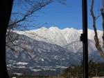 窓から見る中央アルプス_R