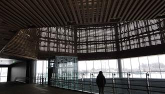 150206上越妙高駅-ドーム