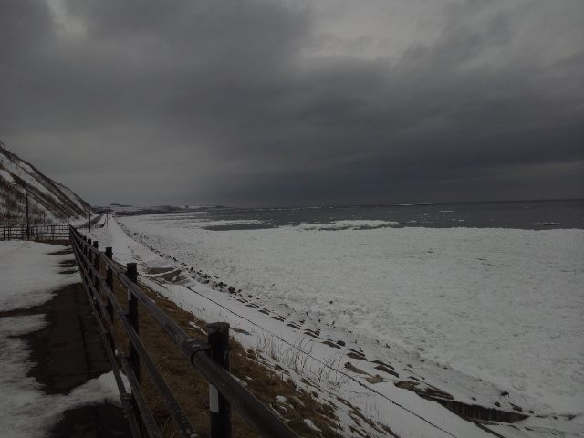 2015年2月8日の流氷