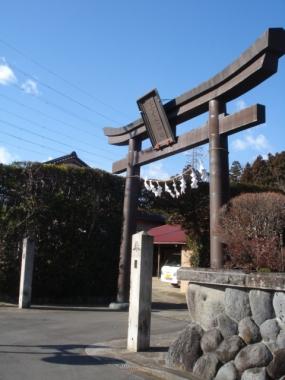 上秦野神社さま:2