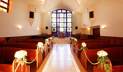 桜の礼拝堂