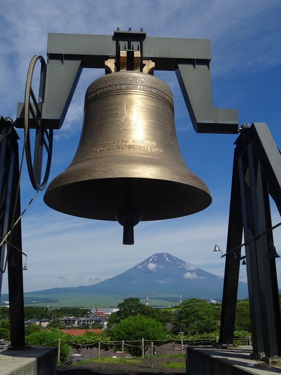 時之栖鐘と富士