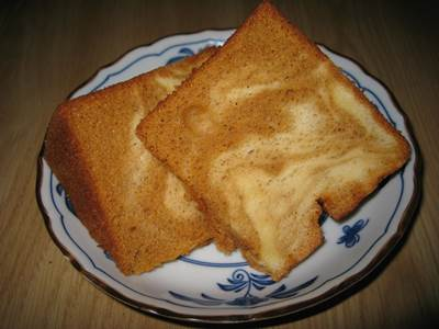シフォンケーキ カット