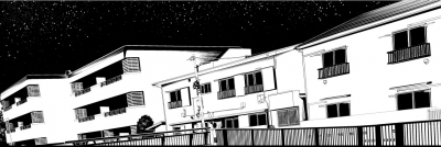 漫画背景の一部