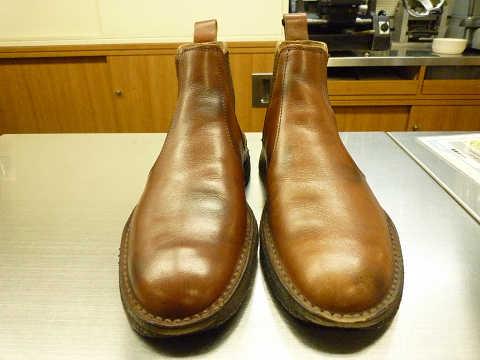 靴磨き ビフォーアフター before after