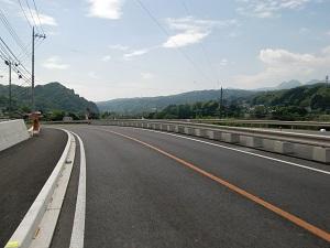 渋川に向う