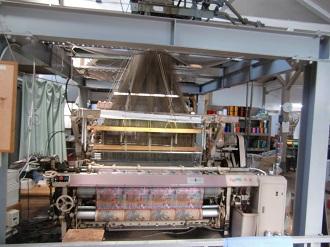 凄い織り機