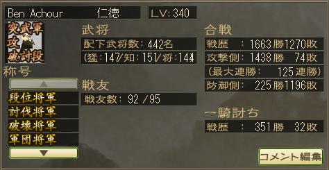 将軍職7つ初