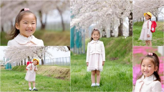 青森県 弘前市 カメラマン 出張 写真 撮影 入園 入学 卒園 卒業 ロケーション 桜 記念 写真 撮影