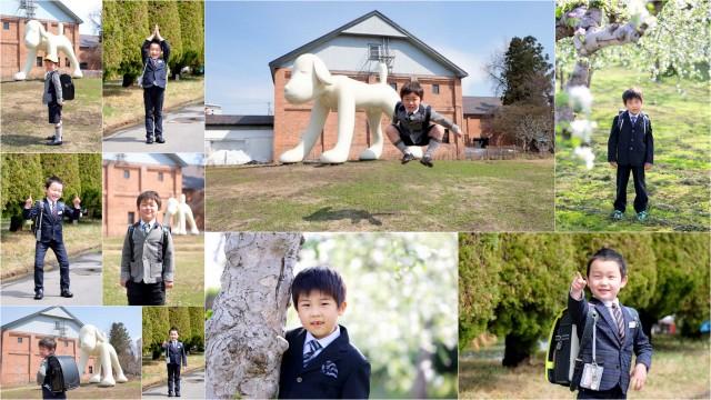 青森県 弘前市 ロケーション フォト カメラマン 写真 撮影 入園 入学 卒園 卒業 出張 写真 撮影