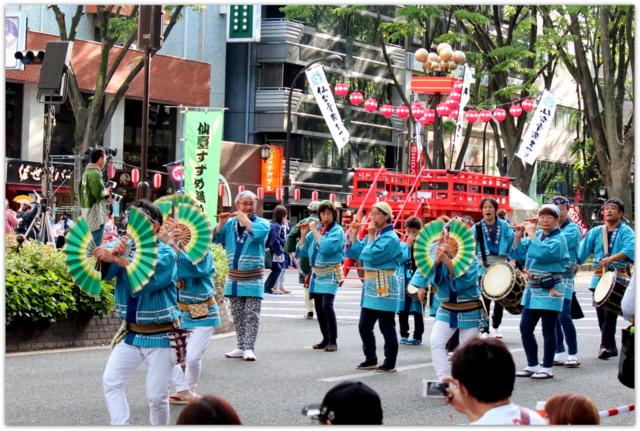 仙台 青葉 まつり 宮城県 すずめ踊り
