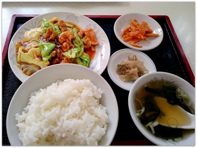 秋田県 大館市 ランチ グルメ 中華料理 ニュー 北京 今週の定食 サービスランチ 回鍋肉定食