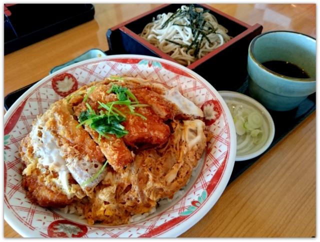そば 天ぷら うなぎ 南部屋敷 秋田県 ランチ グルメ 食堂 レストラン 食事処 とりかつ丼セット ご飯大盛り 冷たいそば 磯そば かっぱ巻き