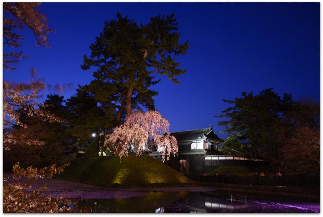 青森県 弘前市 弘前公園 夜桜 弘前さくらまつり 観光 弘前城