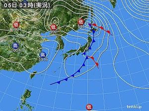 6日天気図②