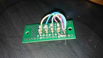 サンプリングレート表示用LED1