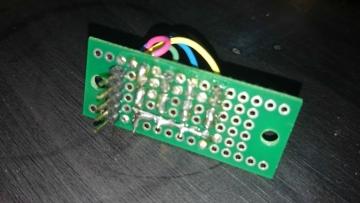 サンプリングレート表示用LED2