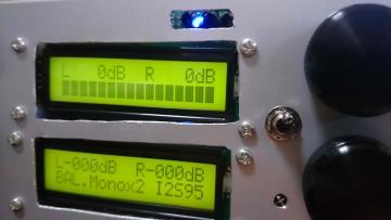 サンプリングレート表示用LED表示例2
