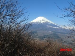 越前岳富士見台から写本