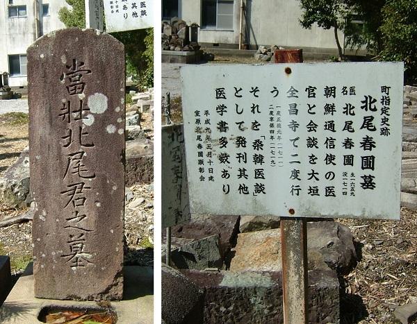北尾春圃墓