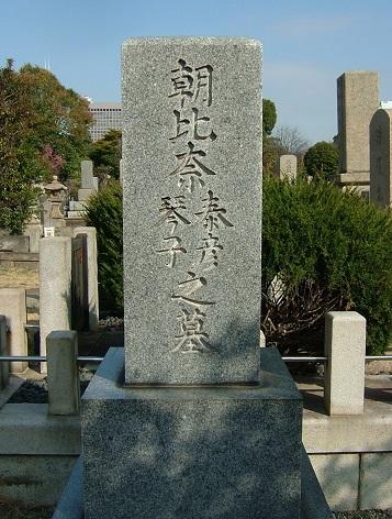 朝比奈泰彦墓