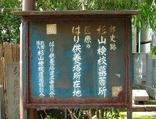杉山和一・弥勒寺 (2)